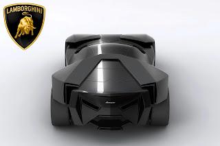 Lamborghini Ankonian Back View HD Wallpaper