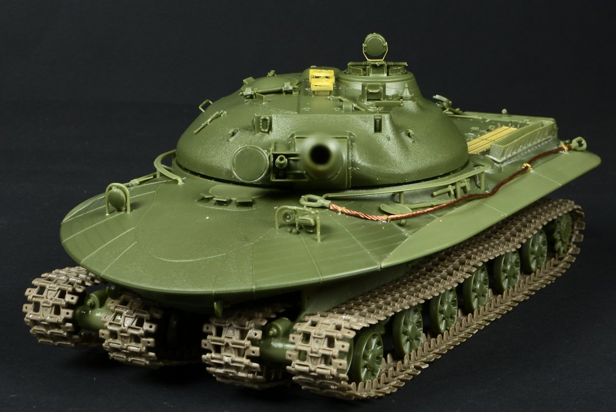 35th scale Object 279 from Panda Hobby review & build