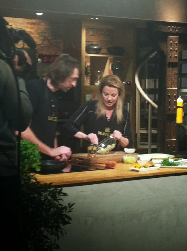 Yolanda pincholos cooking video del programa que grab de for Canal cocina tapas