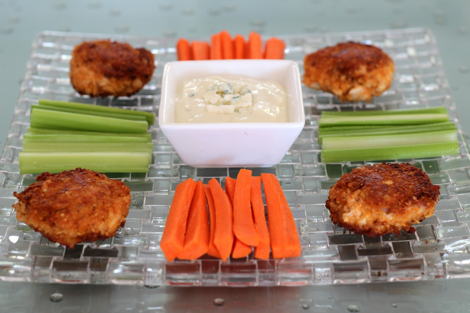 Lexi's Kitchen: BUFFALO CHICKEN AND QUINOA FRITTERS