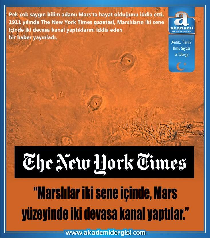 uzayda hayat var mı, evrende yalnız mıyız, mars, mars'ta hayat var mı, merih, national geographic, mars'ın yüzeyindeki kanallar,