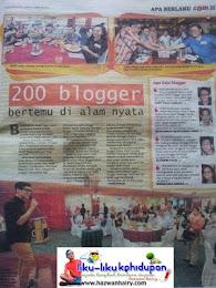 UTUSAN MALAYSIA WITH BLOGGER