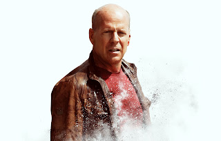 Looper 2012 Bruce Willis Poster