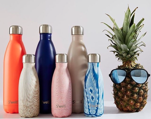 S'well bottles, Hip and Healthy, eco-friendly, sustainable, ban plastic, insulated