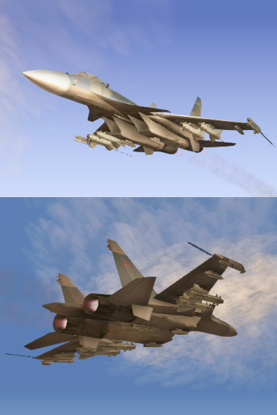 EMB Su-37 Flanker-F BF3