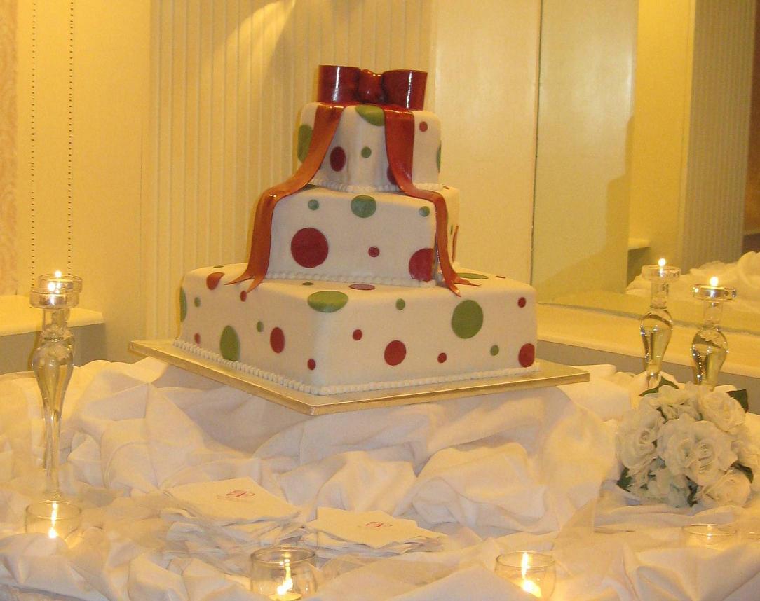 Unique Polka Dot Wedding Cake Designs Wedding Cake Designs