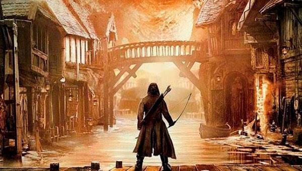 """Bardo en el poster de """"El Hobbit: La Batalla de los Cinco Ejercitos"""""""