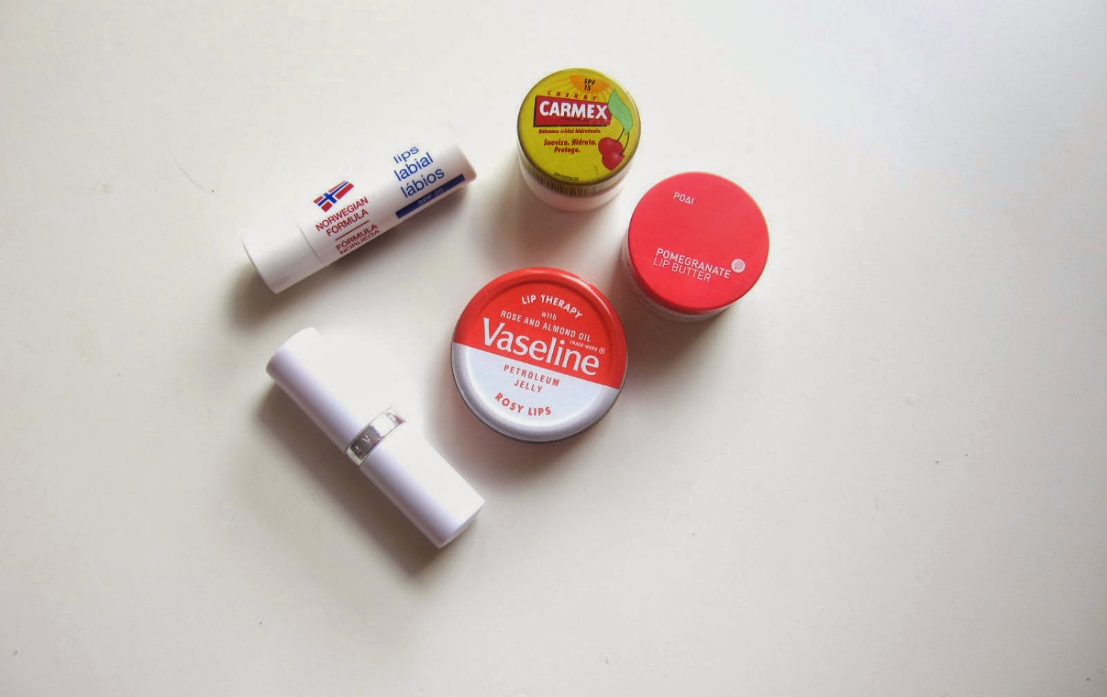 TOP CINCO LIP BALMS