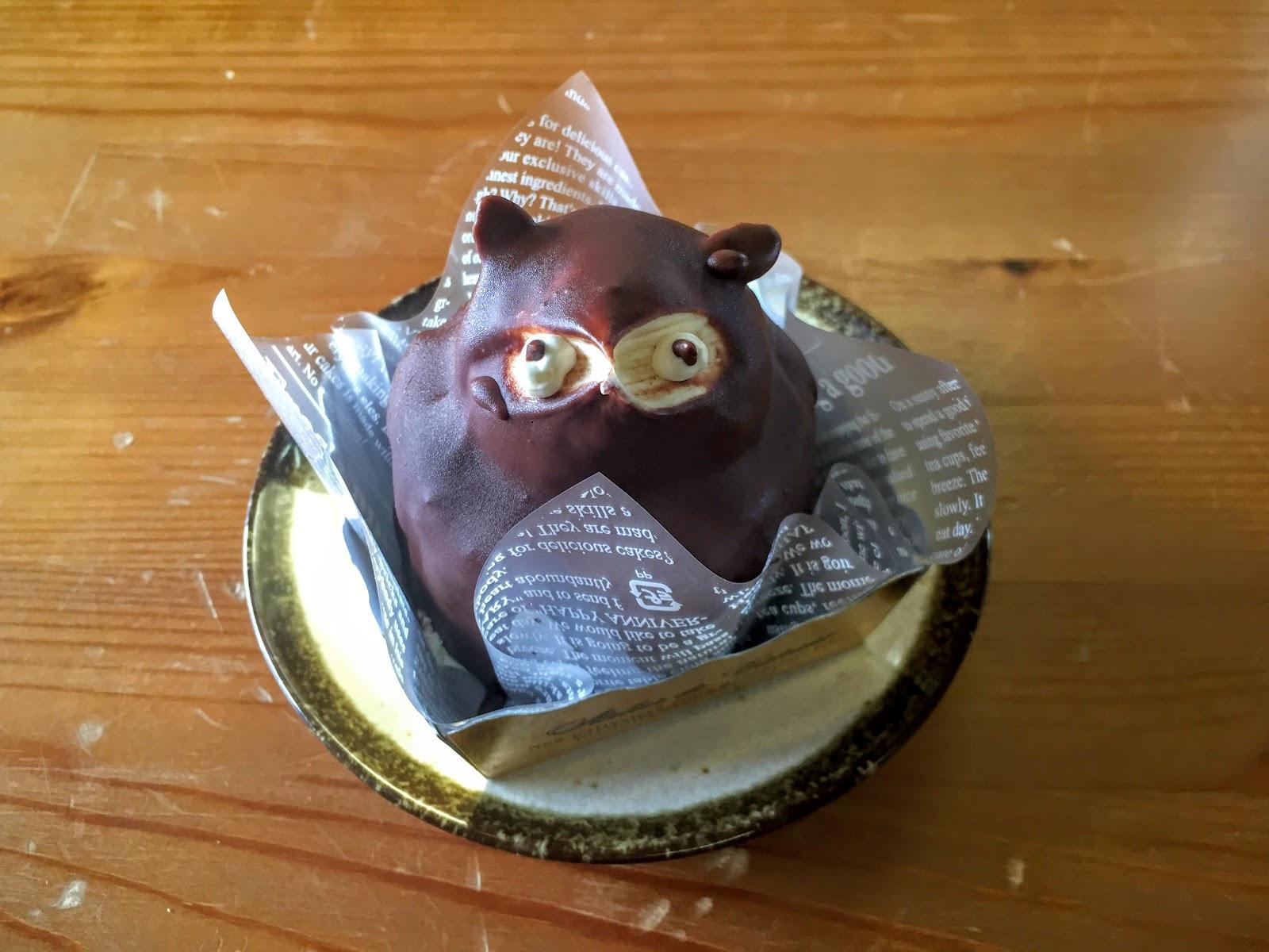 たぬきケーキ 鹿児島県薩摩川内市「のせ菓楽」