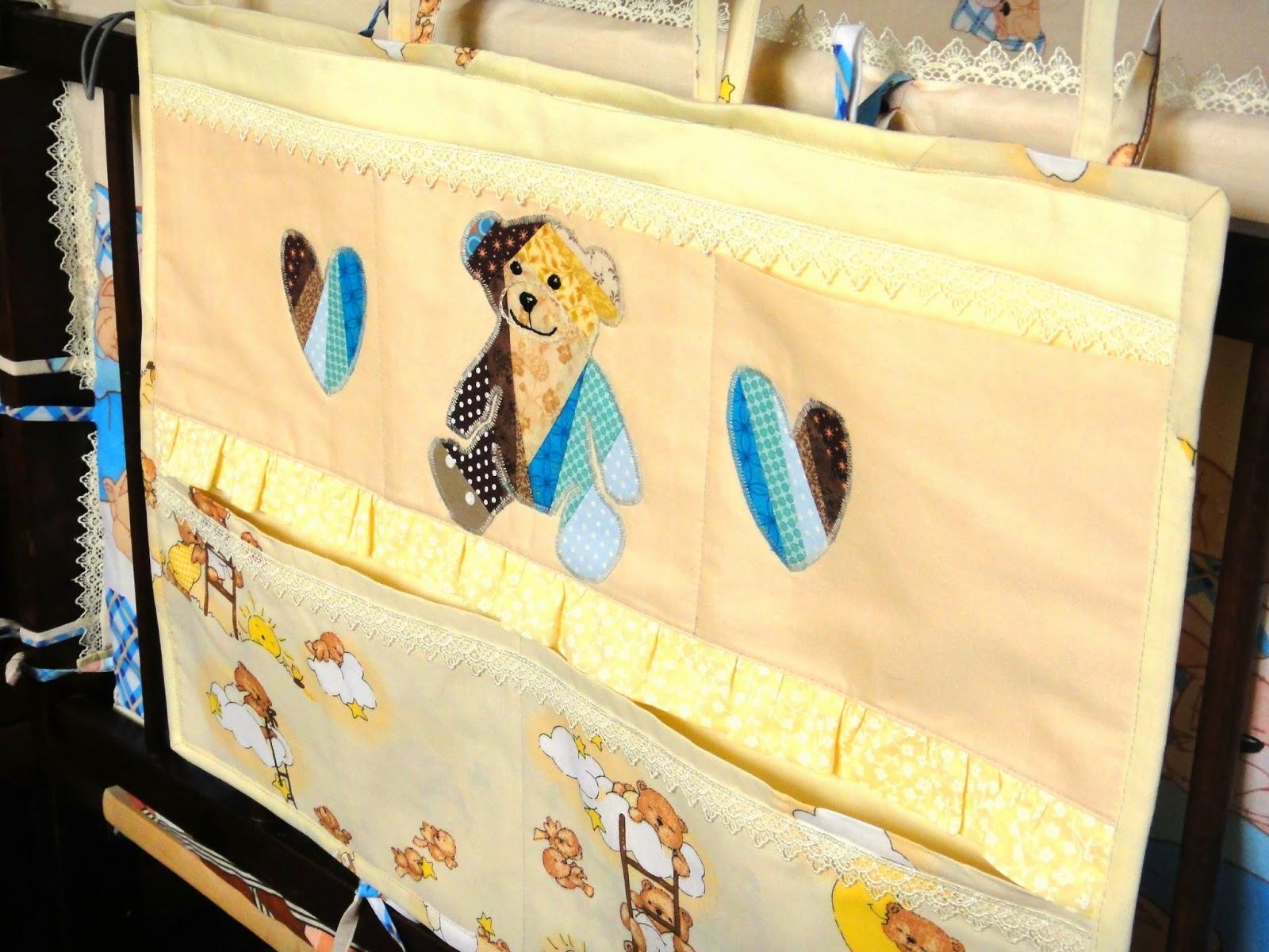 Кармашек в кроватку Подвесной карман в детскую комнату