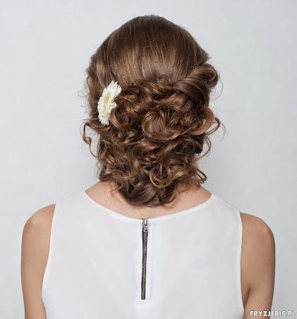 fryzura ślubna 10