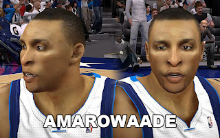 NBA 2K13 Shawn Marion Cyber Face Patch