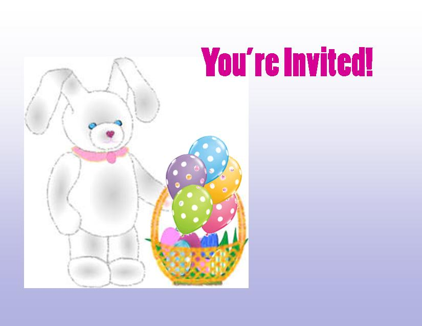 Easter Party Ideas and Downloadable Party Invites for Kids