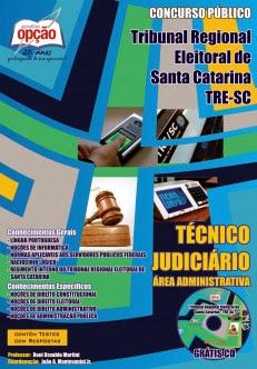Apostila TRESC Técnico Judiciário Completa (Grátis CD ROM)
