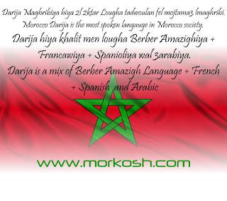 morocco language