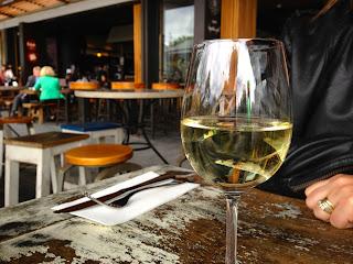 Taste Baguette and Grill, Darling Harbour, Sydney - White wine