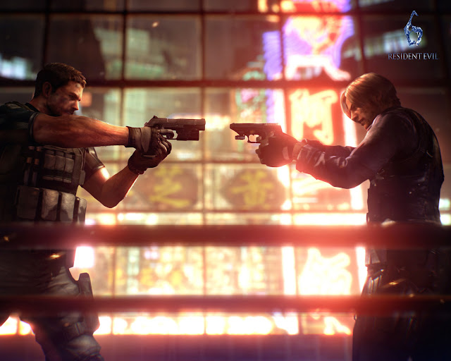 resident evil 6 capcom action shooter horror game