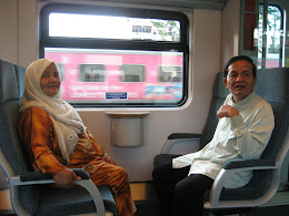 ♥ mak and abah ♥