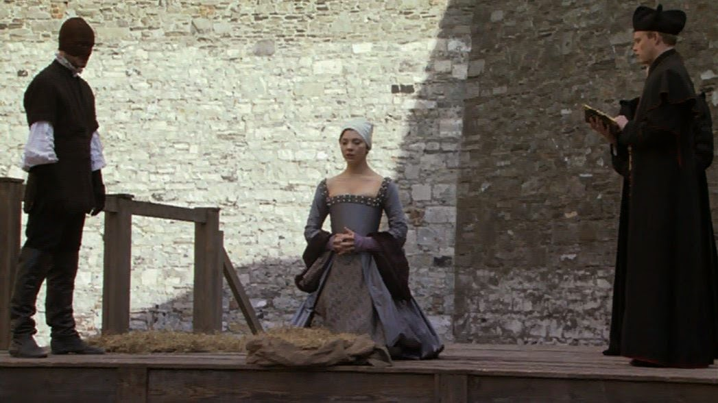 The execution of Anne Boleyn
