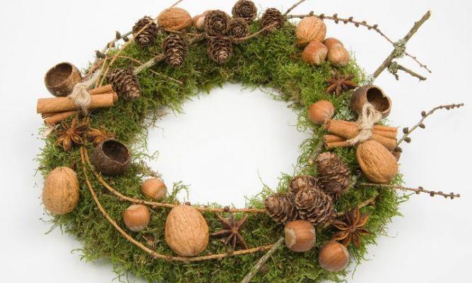 Coronas navideñas muy originales: DIY