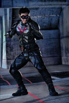 superhero morphsuits the greatest batman beyond cosplay
