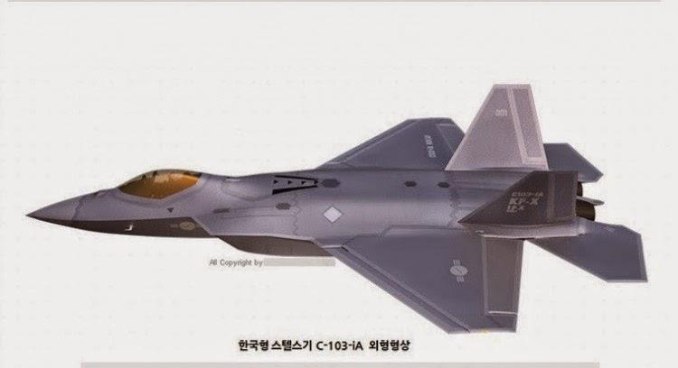 Konsep Pesawat Tempur KFX / IFX