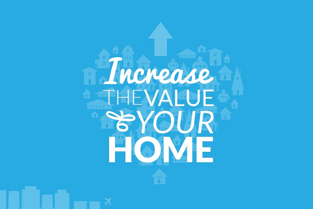 Increase the value of your home infographic visualistan for How to increase home value