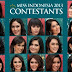 33 Daftar Kontestan Miss Indonesia 2013
