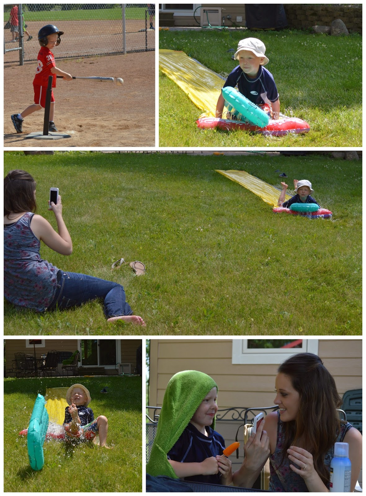 tball and outside summer fun