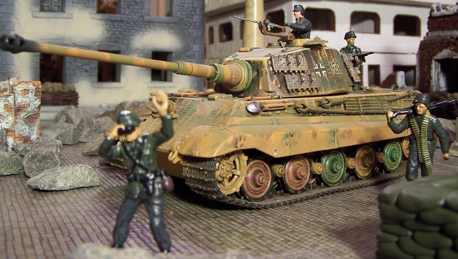 King Tiger Tank Paint Schemes
