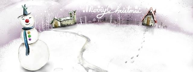 ảnh bìa fb người tuyết