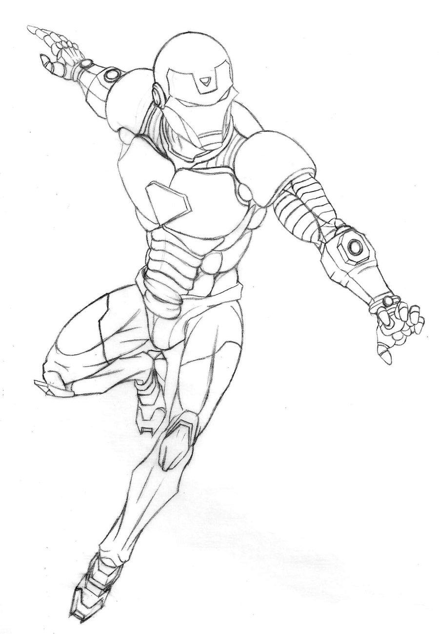 Desenhos do Homem de Ferro para colorir Hello Kids - imagens para colorir do homem de ferro