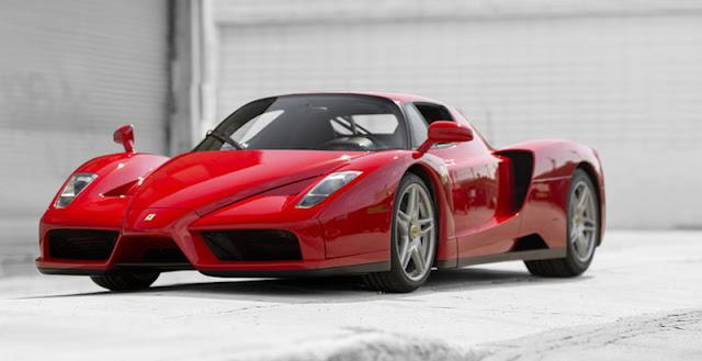 スーパーカーコレクターが所有していた多数の激レアモデルがオークションに出品へ!エンツォフェラーリ