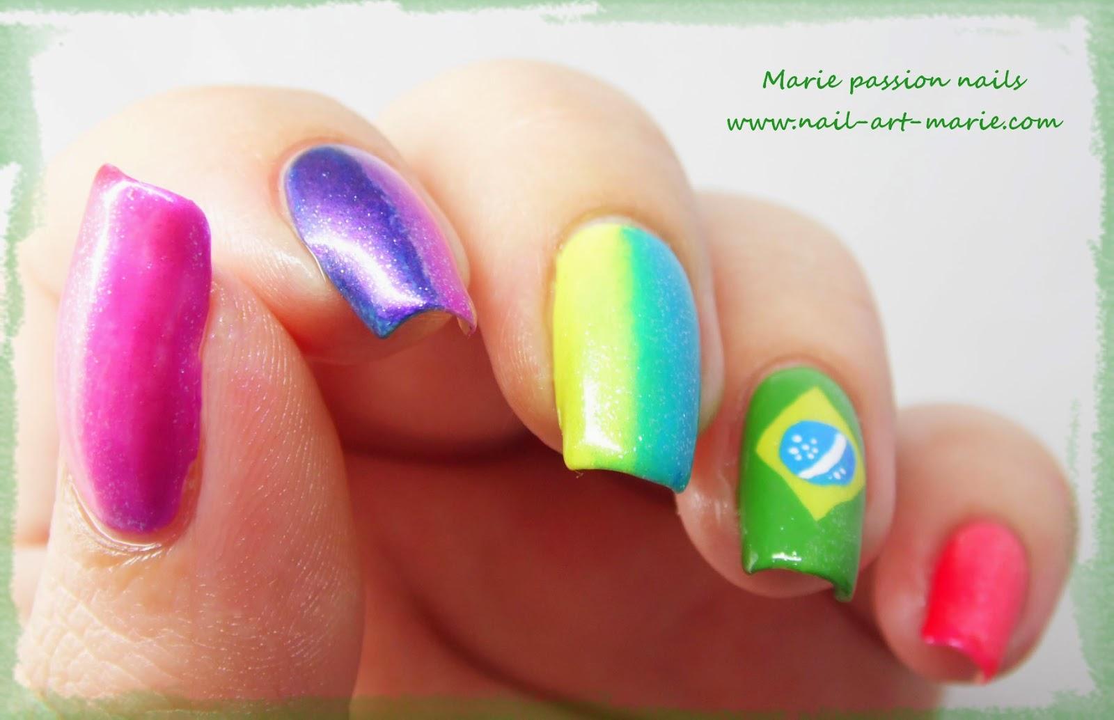 nail art Brésil7