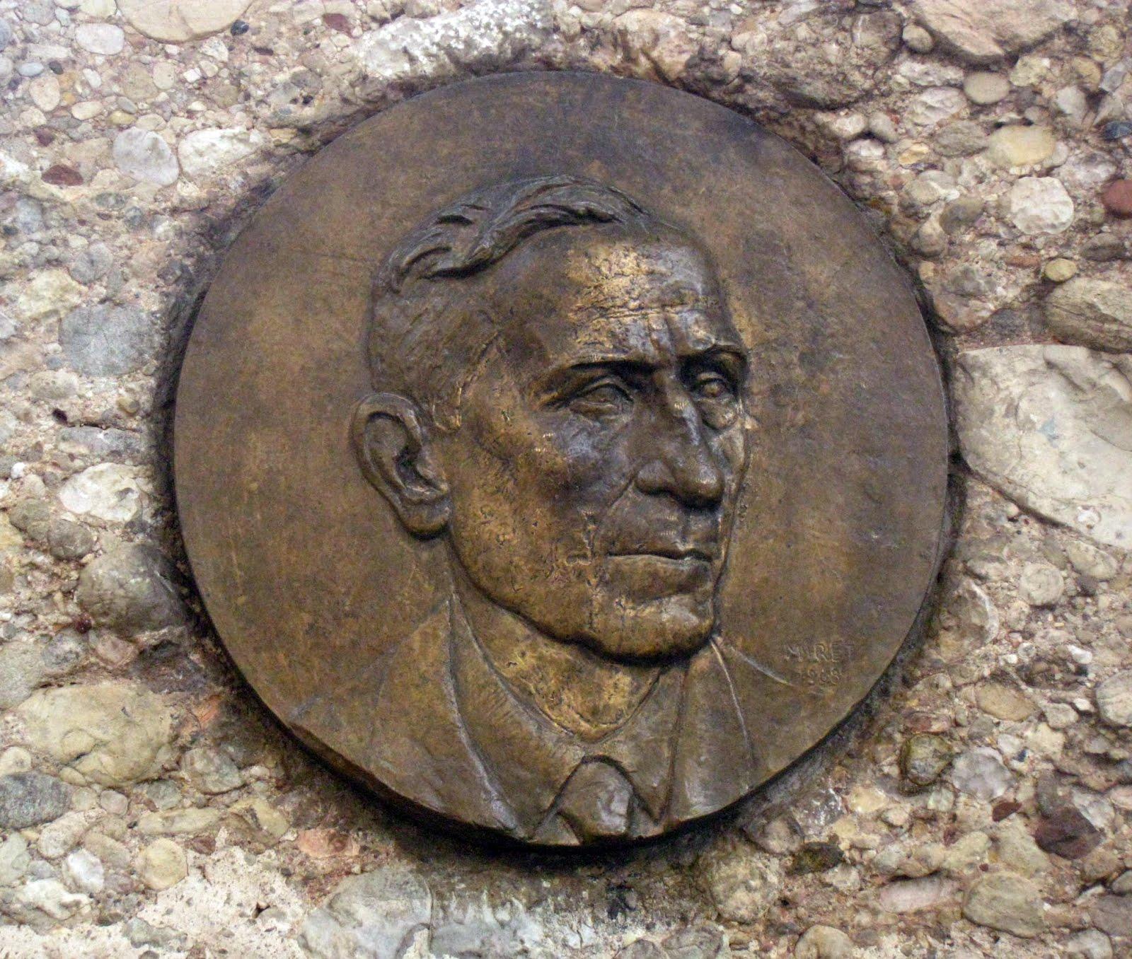 Mapa dels medallons de Pompeu Fabra