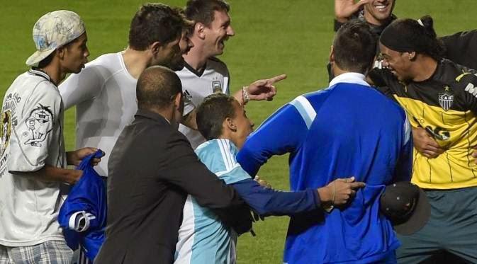 Ketika Lionel Messi Ditipu Penggemar