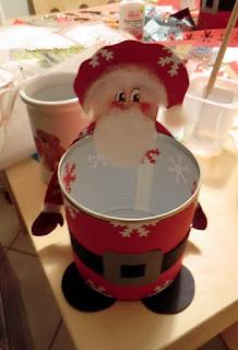 Kathrins blog basteln mit kindern weihnachtsmann - Basteln zu nikolaus im kindergarten ...