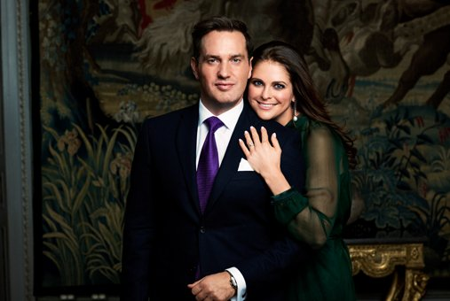 Princess madeleine of sweden got engaged to her boyfriend of two years