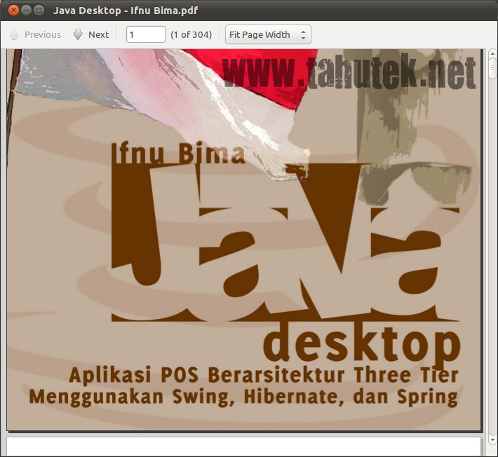 Buku Java Desktop berbahasa Indonesia