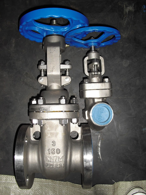 Valves made of Alloy 20