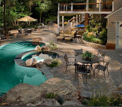 Fotos de terrazas terrazas y jardines planos for Fotos de jardines de casas modernas