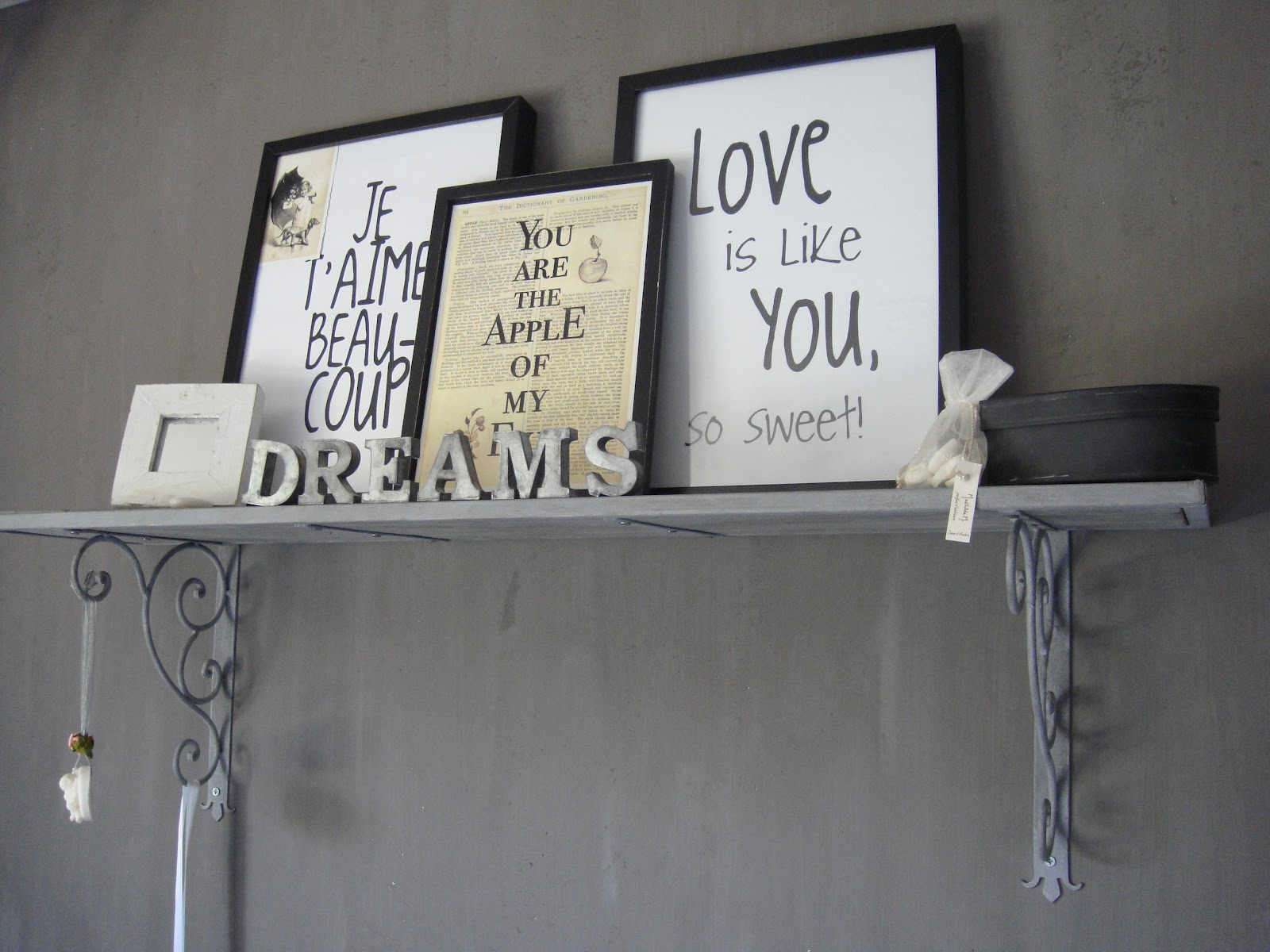 Mooi Slaapkamer Idees : Slaapkamer ideeën mooi idee voor aan de muur ...