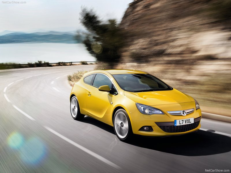 2012 New Vauxhall Astra GTC