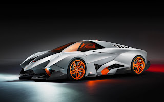 Lamborghini Egoista Concept Car Wallpaper