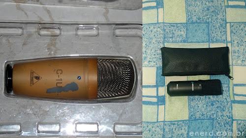Microfone USB Arcano para estúdio BKU-01