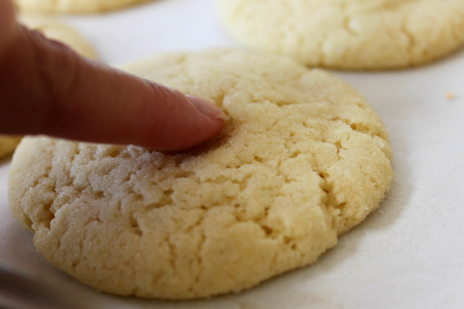 Feast for the Eyes: Chewy Sugar Cookies