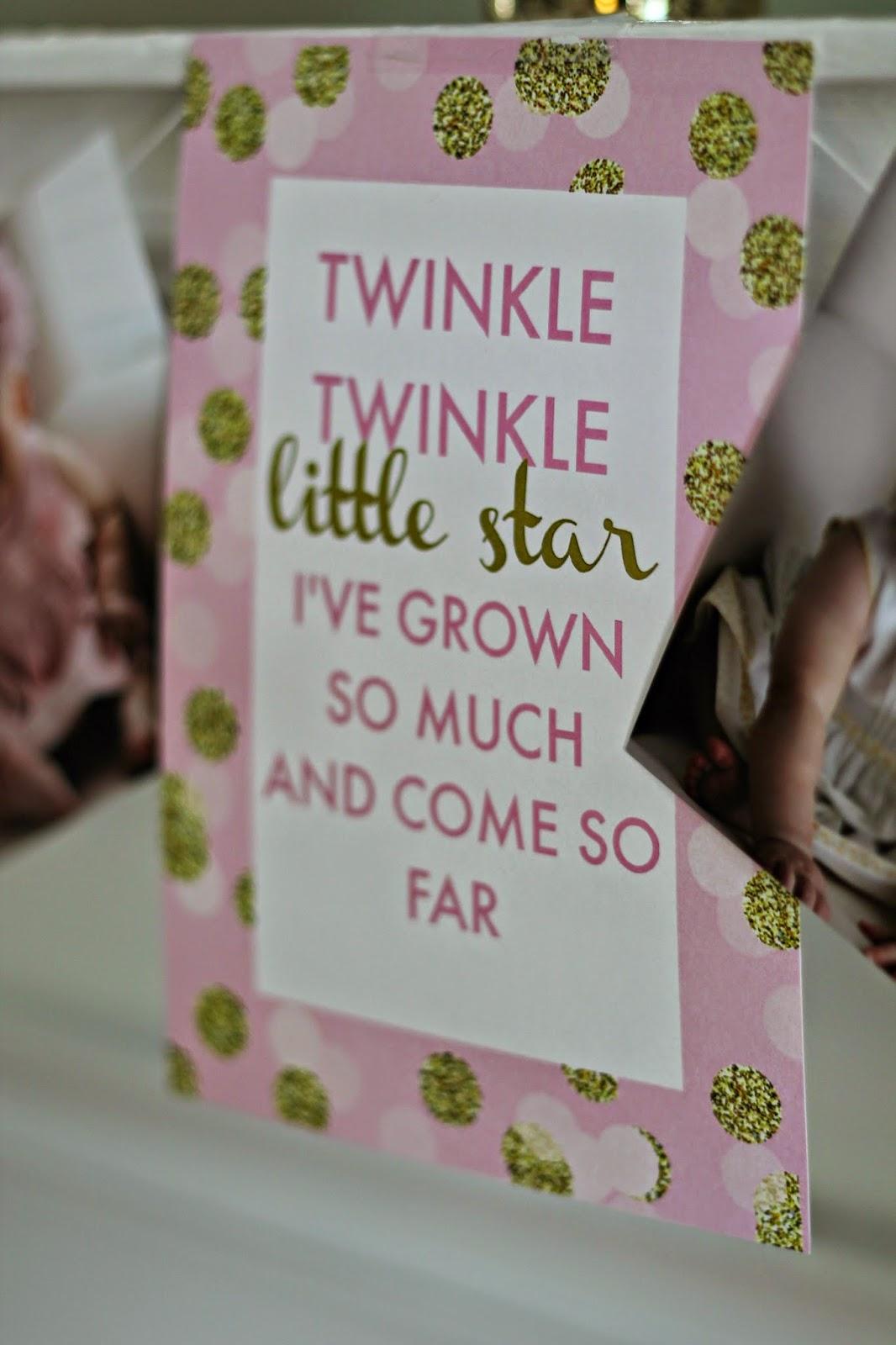 Carolines Twinkle Twinkle Little Star 1st Birthday Party Carolina