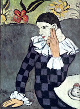 Harlequin by Picasso