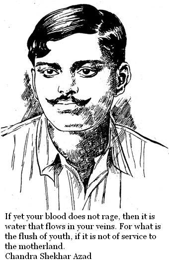 Chandra Shekhar Azad Quotes and Sayings