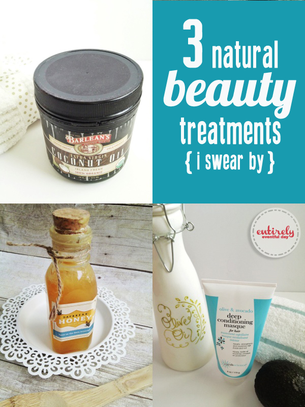 Natural beauty treatments that make a huge difference! Must pin. entirelyeventful.com #beauty #honey #hair